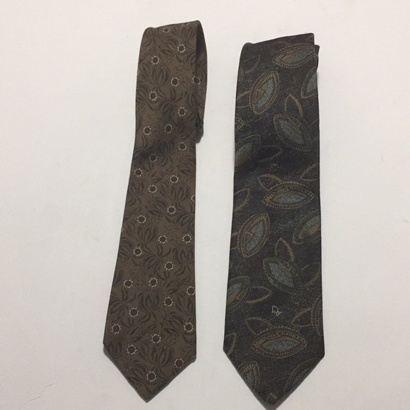 8f4ca5947b99 Dior Other | 2 Christian Men Ties Made In France Usa | Poshmark